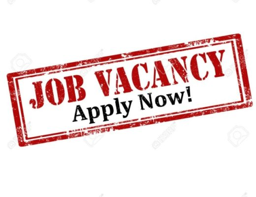Adverts and Vacancies – 19th January, 2020