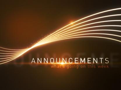 Parish Announcement – 15th December