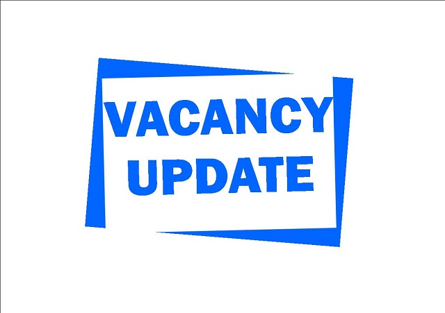 Adverts and Vacancies – 20th October