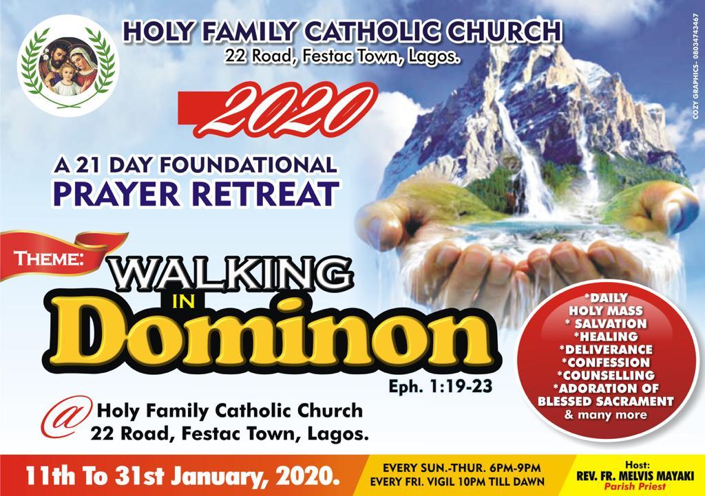 21 Day Parish Foundational Prayer Retreat