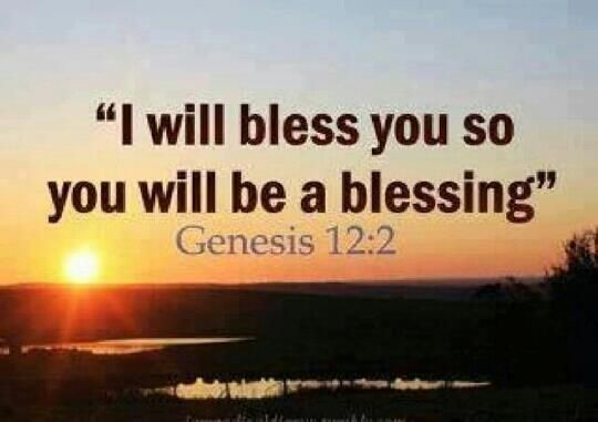 You Will Be A Blessing