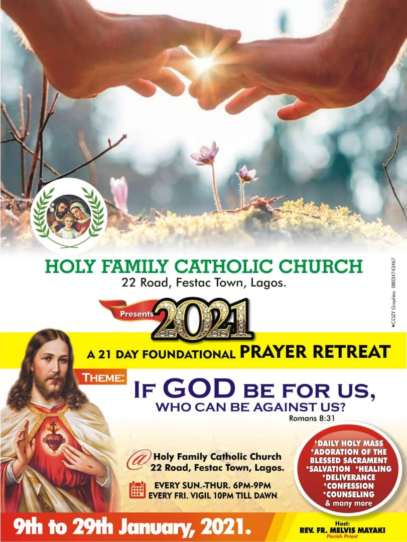 A 21 Day Foundational Prayer Retreat